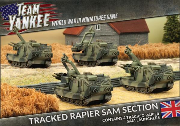 Flames Of War (Team Yankee): (British) Tracked Rapier SAM Section