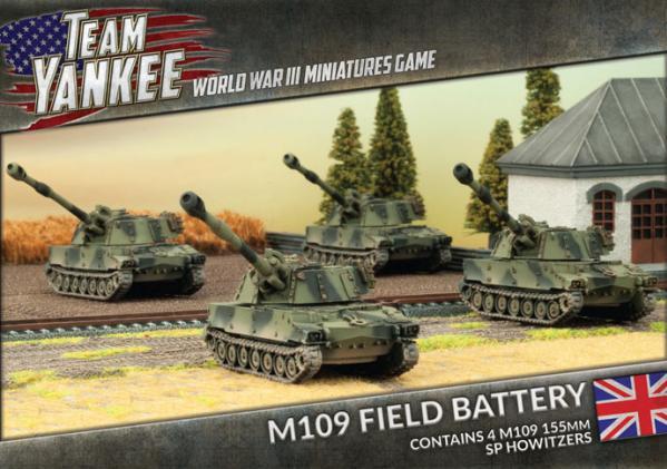 Flames Of War (Team Yankee): (British) M109 Field Battery