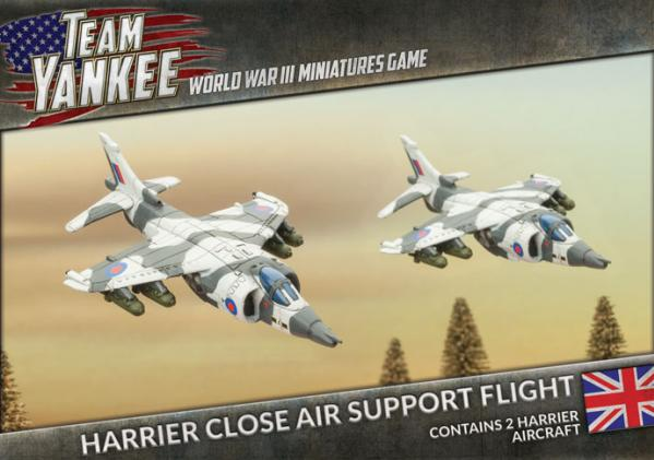 Flames Of War (Team Yankee): (British) Harrier Close Air Support Flight