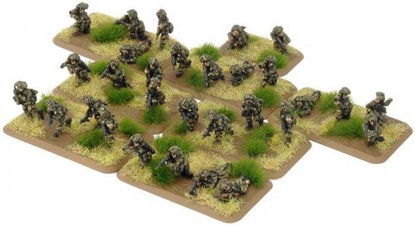 Flames Of War (Team Yankee): (British) Mechanised Platoon