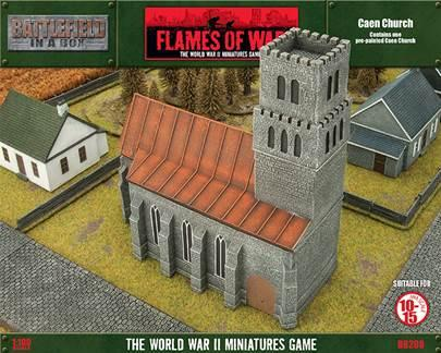 Battlefield In A Box: Caen Church