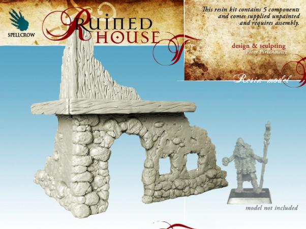 (Scenery) Ruined House