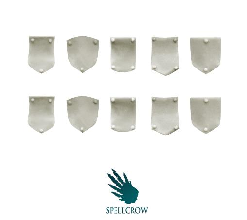 28mm Sci-Fi: (Space Knights) Small Shoulder Shields