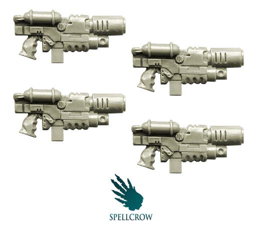 (Space Knights) Combined Melting Guns