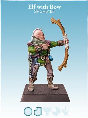 28mm Fantasy: Elf w/Bow