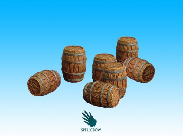 28mm Terrain: (Scenery) Barrels