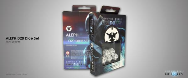 Infinity Accessories: ALEPH D20 Dice Set