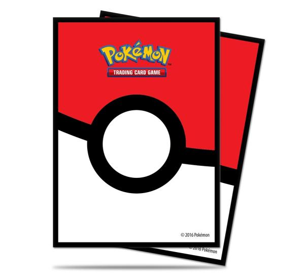 Pokemon CCG: Pokeball Deck Protectors (65)