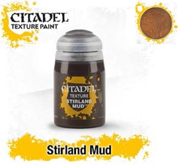 Citadel Texture Paints: STIRLAND MUD (24ML)