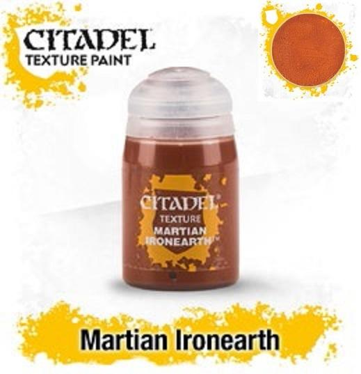 Citadel Texture Paints:  MARTIAN IRONEARTH (24ML) [Marked as 27-11]
