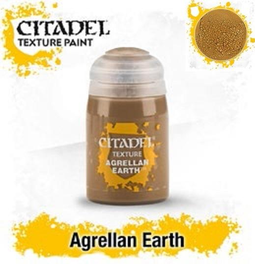 Citadel Texture Paints:  AGRELLAN EARTH (24ML)