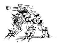 BattleTech Miniatures: SRTH-10 Sarath Prime Mech (TRO 3145)