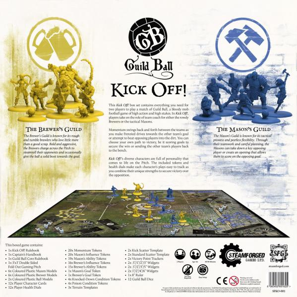 GuildBall: Kick Off!