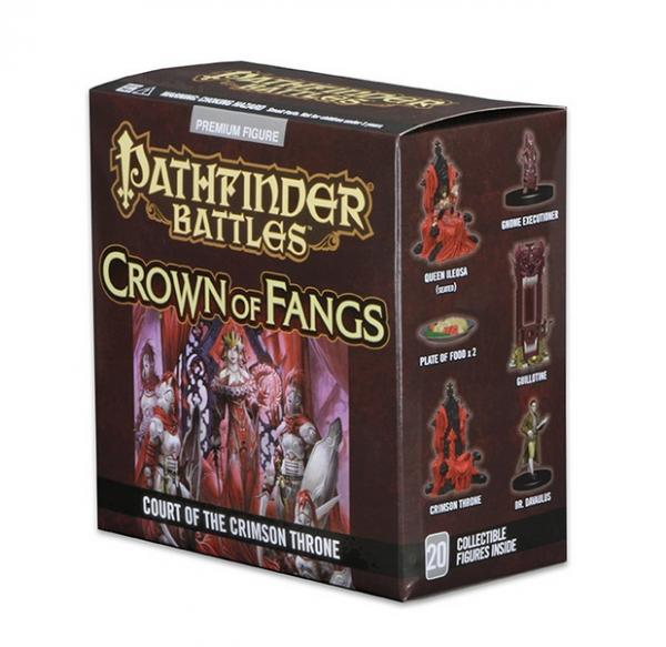 Pathfinder Battles: Crown of Fangs Court of the Crimson Throne Case Incentive (PR)