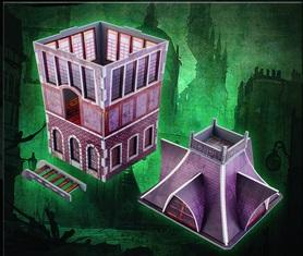 Malifaux: (Terrain) The Tower (Color ED)