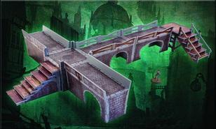 Malifaux: (Terrain) Sewer Walkway Set (Color ED)