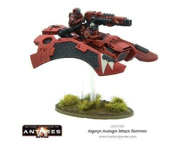 Beyond The Gates Of Antares: (Algoryn) Avenger Attack Skimmer