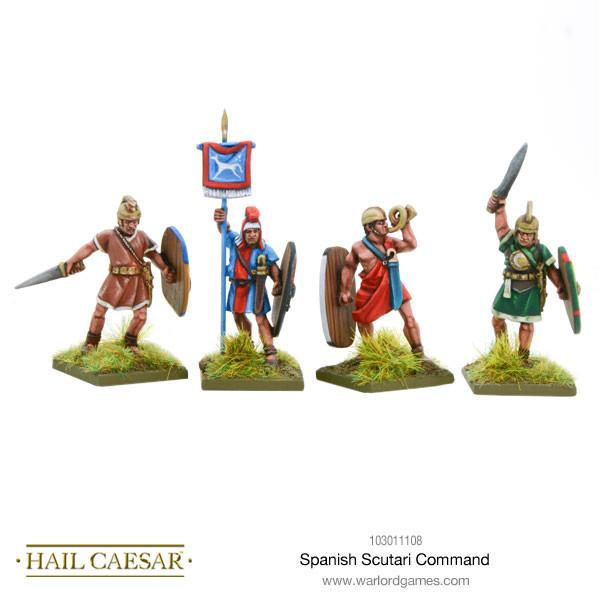Hail Caesar: (Spanish) Scutarii Command