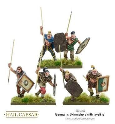 (Germanic) Skirmishers w/Javelins