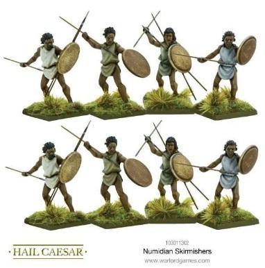 (Numidian) Skirmishers
