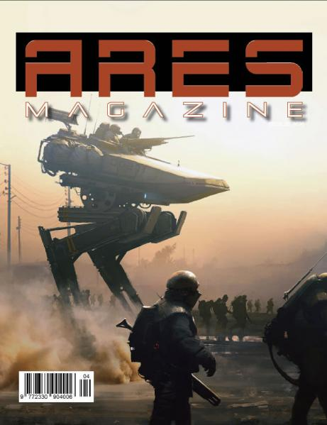 Ares Magazine: #4 Extractors! (Full Hobby Edition) (Game Included)