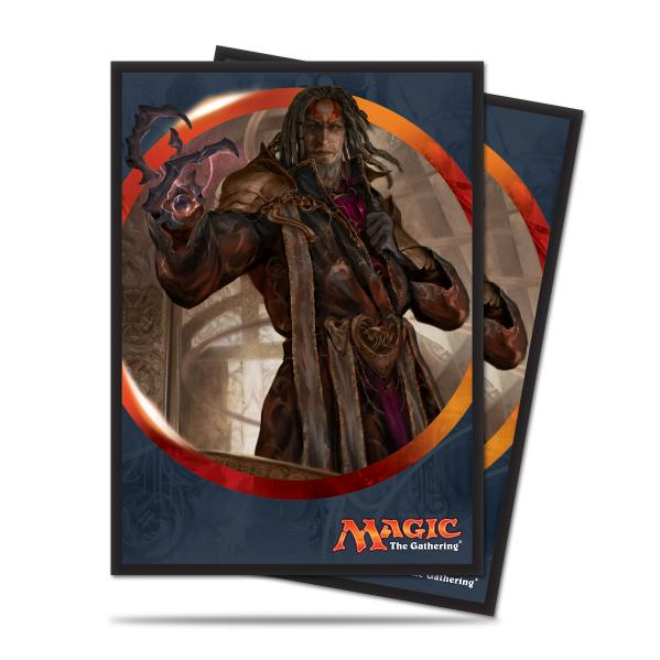 Magic The Gathering: Aether Revolt - Tezzeret the Schemer Deck Protectors (80)