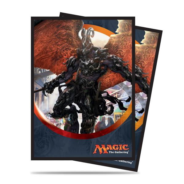 Magic The Gathering: Aether Revolt - Herald of Anguish Deck Protectors (80)