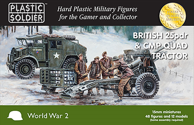 15mm WWII: (British) 25pdr & CMP Quad Tractor