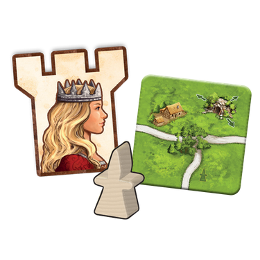 Carcassonne Expansion #3: The Princess and the Dragon