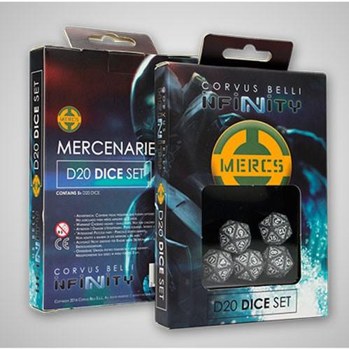 Infinity Accessories: Mercenaries D20 Dice Set