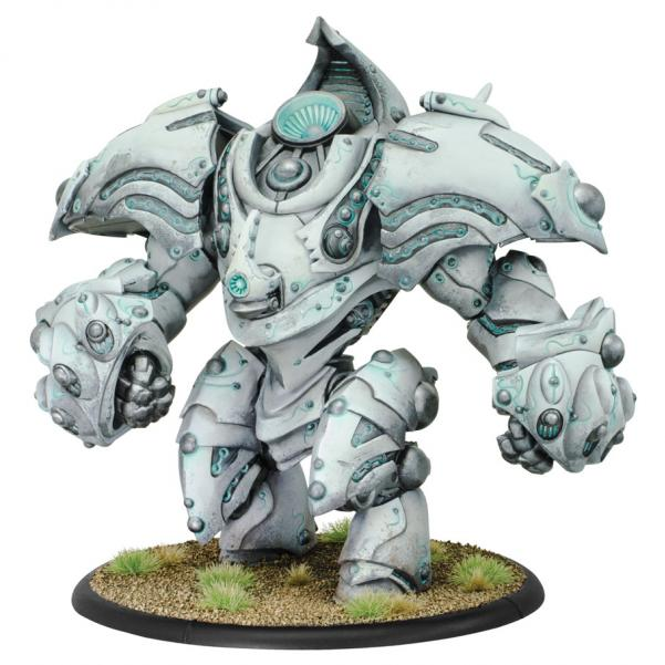 Warmachine: (Retribution Of Scyrah) Helios/Hyperion, Colossal (plastic)