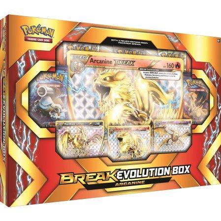 Pokemon CCG: BREAK Evolution Box - Arcanine