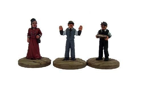 Dead Man's Hand: Bank Civilian Set
