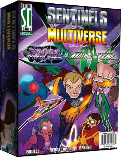 Sentinels Of The Multiverse: Shattered Timelines & Wrath Of The Cosmos Combo-Box