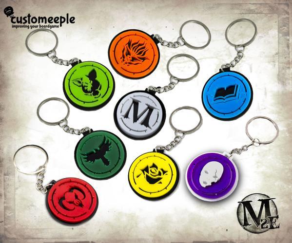 Malifaux: (Key-Ring) Malifaux Silver (1)
