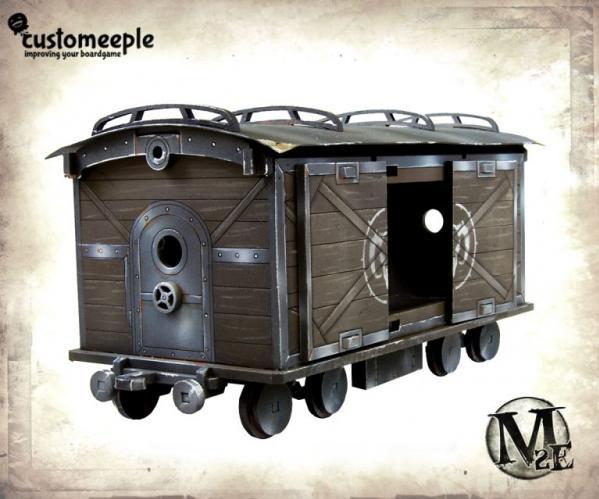 Malifaux: Train wagon (Cargo)