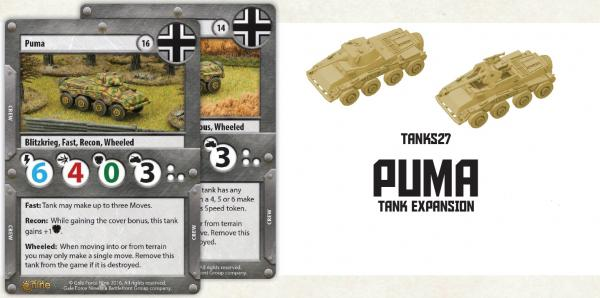 TANKS: PUMA Tank Expansion