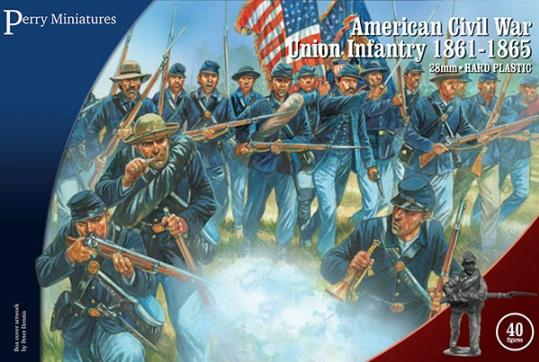 28mm American Civil War: Union Infantry 1861-65 [Plastic]