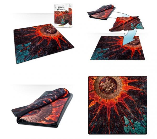 Warhammer 40K: BATTLE MAT - KHORNE DOMINION