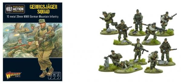 Bolt Action, 2nd Edition: (German) Gebirgsjager Squad