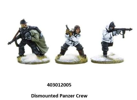 Bolt Action, 2nd Edition: (German) Dismounted Panzer Crew