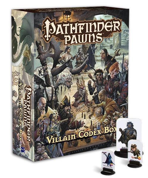 Pathfinder RPG: (Pawns) Villain Codex Box