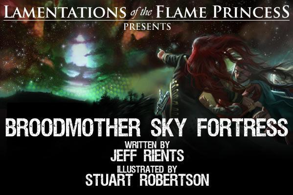 Lamentations Of The Flame Princess RPG: Broodmother SkyFortress (HC)