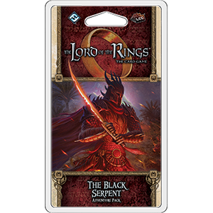 Lord of the Rings LCG: The Black Serpent Adventure Pack