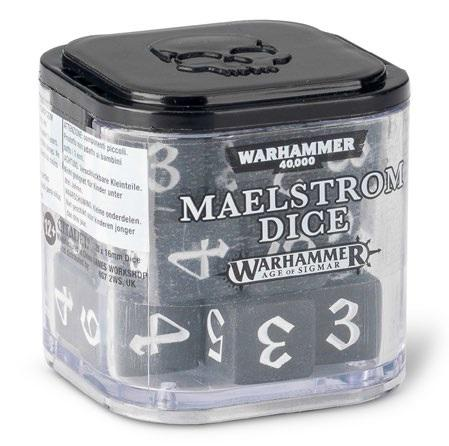 Warhammer 40K: MAELSTROM DICE CUBE (Set of 20 6-sided dice)