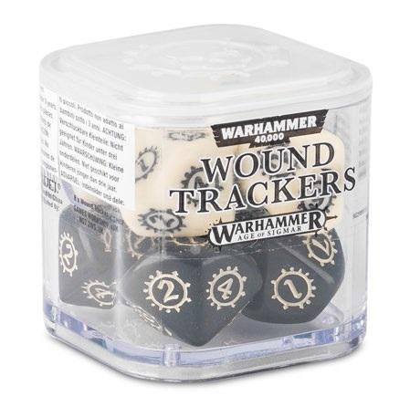 Warhammer 40K: WOUND TRACKERS (Set of 8 10-sided dice)