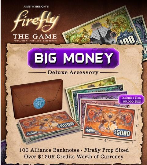 Firefly: Big Money Deluxe Acessory