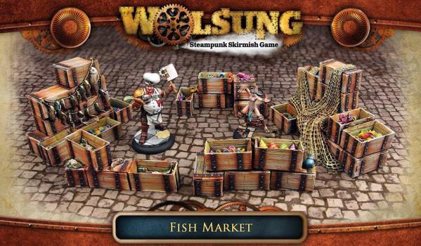 Wolsung Steampunk Game: Fish Market