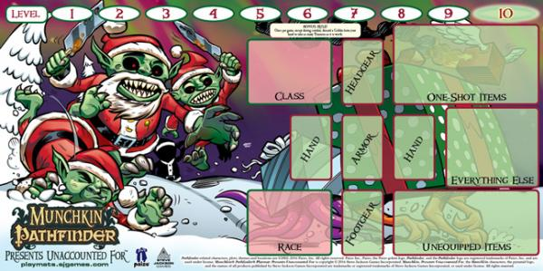 Munchkin: Pathfinder Playmat - Presents Unaccounted For