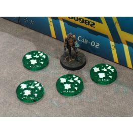 Bandua Accessories: Camo Tokens